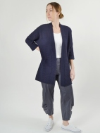 Easy Dolman Cardi by Kinross Cashmere