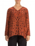 Elegant Drops Blouse by Grizas