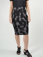 Equinox Print Skirt by Porto