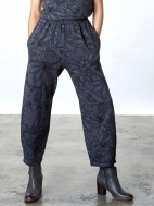 Fleece Print Olivier Pant by Bryn Walker