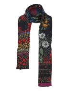 Floral Jacquard Scarf by Ivko