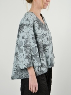 Floral Print Lily Shirt by Bryn Walker