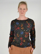 Floral Pullover by Ivko