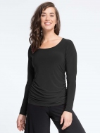 Glance Ruched T by Sympli