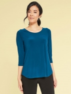 Go To Classic 3/4 Sleeve Relaxed Tee by Sympli