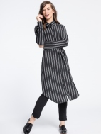 Go To Shirt Dress Stripe by Sympli