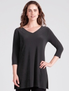 Go To V-Neck Tunic by Sympli