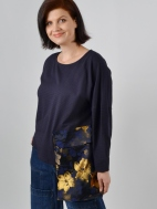 Gold Brocade Pocket Top by Alembika