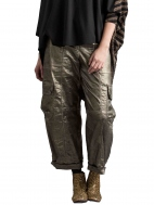 Gold Cargo Pant by Alembika
