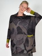 Graphic Fantasy Tunic by Chiara Cocol