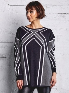 Graphic Sweater by Planet