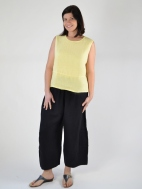 Heavy Linen Flood Pant by Bryn Walker