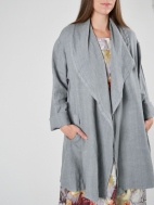 Heavy Linen Marcella Jacket by Bryn Walker