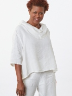 Heavy Linen Nola Shirt by Bryn Walker