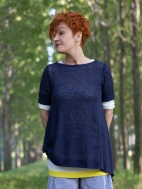 Hemp Double Layer Top by Chiara Cocol