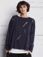 Holey Boxy T by Planet