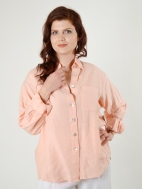 Light Linen Boyfriend Shirt by Bryn Walker