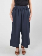 Light Linen Flood Pant by Bryn Walker