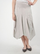 Linen  Pocket Skirt by Luna Luz