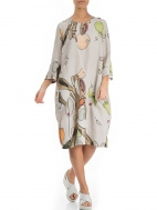 Linen Abstract Print Dress by Grizas