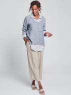 Linen Flood Pants by Flax