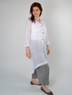 Linen Voile Duster by Banana Blue