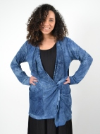Long Sleeve Tie Dye Jacket by Alembika