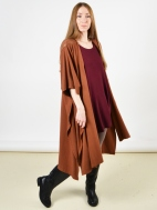 Long Wrap Poncho by Bryn Walker