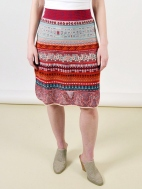 Loose Stitch Skirt by Ivko