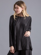 Micropleated Evening Top by Alembika