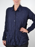 Mindy Crinkle Pocket Shirt by Comfy USA