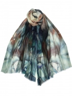 Misty Falls Scarf by Dupatta Designs