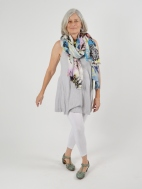 Monterossa Floral Scarf by Kinross Cashmere
