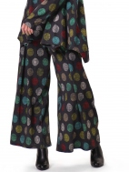 Multi-Dot Wide Leg Pant by Alembika