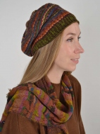 Multi Stripe Beanie by Butapana