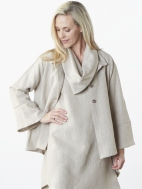Natural Sabira Jacket by Bryn Walker