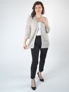 Openwork Cardigan by Kinross Cashmere