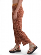 Orange Confetti Print Pant by Alembika