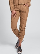 Patriot Linen Jogger Pant by Flax