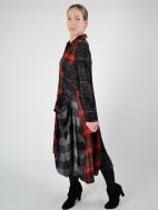 Plaid Pocket Dress by Alembika