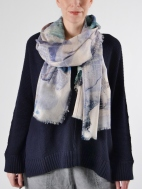 Plein Air Print Scarf by Kinross Cashmere