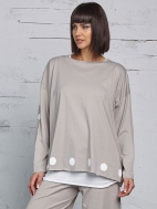 Polka Dot Boxy Tee by Planet