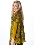 Print Fleece Branson Tunic by Bryn Walker