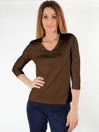 Relaxed Fit V-Neck by Judy P