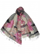 Remington Pink Scarf by Dupatta Designs
