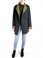 Reversible Asym Coat by Beyond Threads