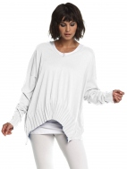 Rib V-Neck Sweater by Planet