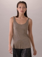 Shimmer Melange Tank by Composition