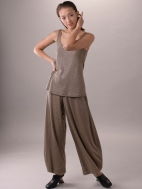 Shimmer Melange Tulip Pant by Composition