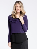 Shorty Cowl LS Top by Sympli